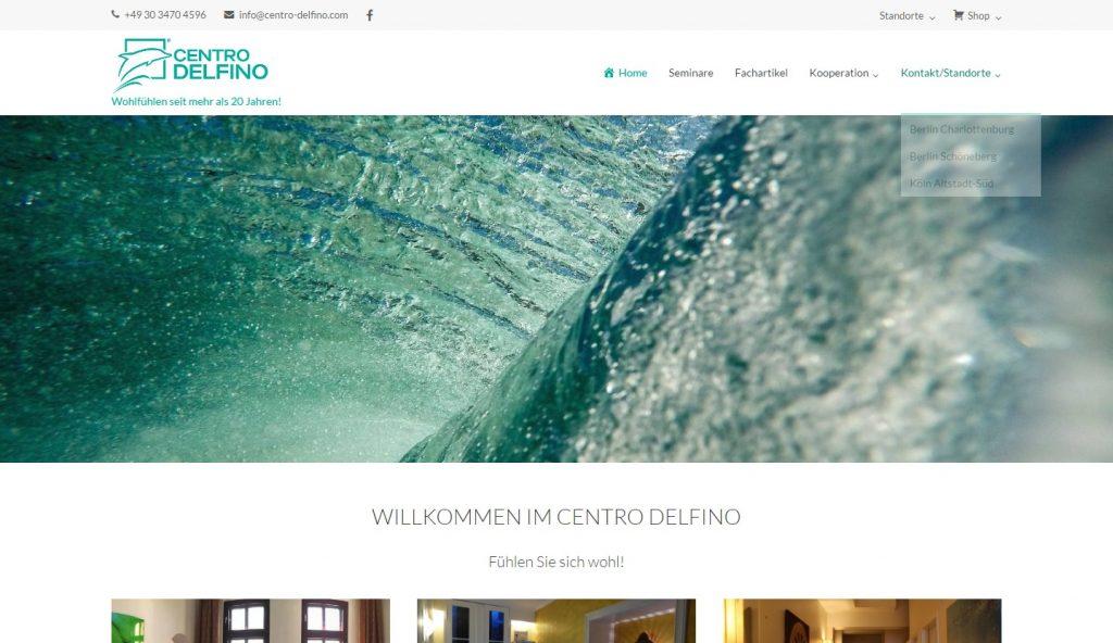 Homepage für Gesundheitsberufe - centro-delfino.com