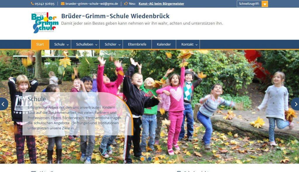 Homepage für Schulen - brueder-grimm-schule-wd.de