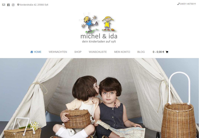 Michel und ida - dein Kinderladen auf Sylt
